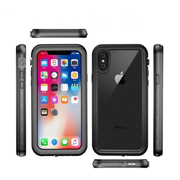 waterproof-shockproof-kalaf-keis-iphone-x-xs-max- redpepper