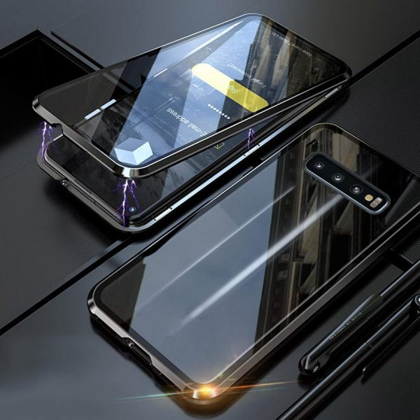 360-magniten-aluminiev-keis-s-dvoen-staklen-gorilla-glass-protektor-galaxy-s10-plus